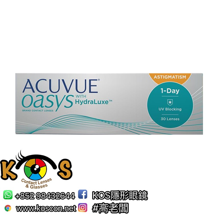ACUVUE® OASYS® 1-DAY 散光