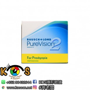 PureVision2 HD 每月拋棄漸進