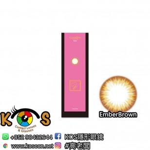 CalmeD'or 1Day V EmberBrown 20片装(日拋)
