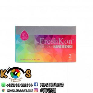 FreshKon Fusion 花紋 月戴