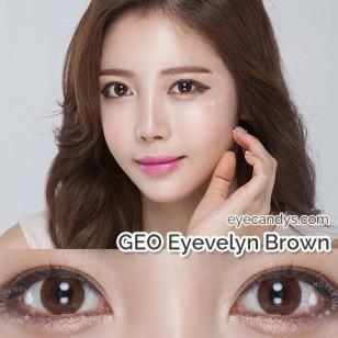 GEO Eyevelyn矽水 Brown(淺啡)