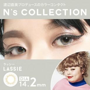 N'sCOLLECTION Lassie 日抛10片装