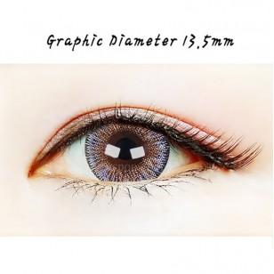 【散光】Neo Dali 3Color N345 半年抛棄散光彩妝隱形眼鏡  [난시]네오비젼 달리3컬러 그레이