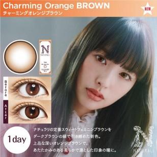 Naturali 1-Day Charming Orange Brown 10片裝