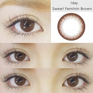 Naturali 1-Day Charming Brown 10片裝
