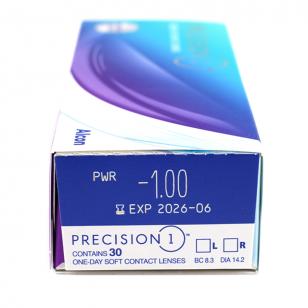 Alcon Precision 1 1Day 每日即棄 單光
