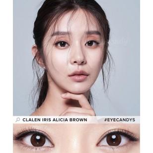 Clalen Iris Alicia Brown 夢幻啡 散光