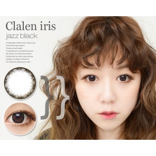 Clalen Iris Jazz Black 1-Day 大眼仔