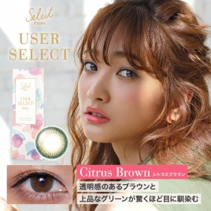 Fairy 1 Day User Select(Citrus Brown)