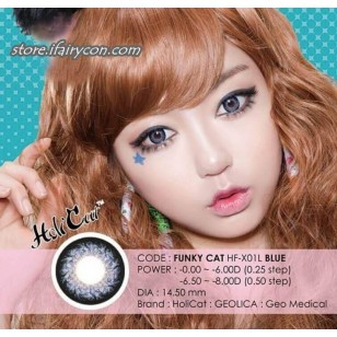 Geo HoliCat Funky Cat (Blue)