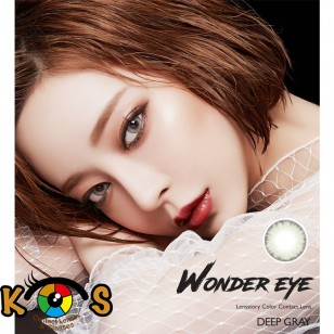 Lens Story Wonder Eye Deep Gray (月拋)