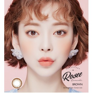 Lens Story Rosee Romantic Brown(月拋)