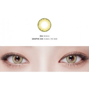 Lens Story Wonder Eye Green(月拋)