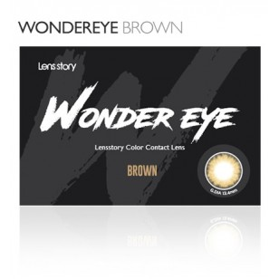 Lens Story Wonder Eye Brwon (月拋)