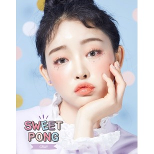 Lens-Town Sweet Pong Gray(月拋)