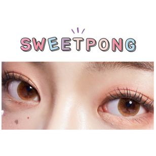 Lens-Town Sweet Pong Brown(月拋)